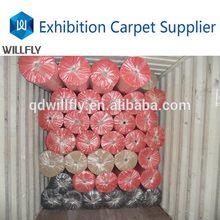 Customized unique indoor ribbed velour carpet