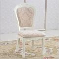 de estilo europeo clásico de madera silla de comedor