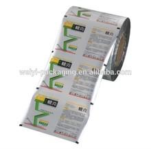 Laminated material shampoo film sachets packing