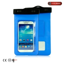 Universal Waterproof Cell Phone Carrying Cases For Apple iPhone 6, 5s, 5, Galaxy S5, S4 S3, HTC One, Galaxy Note 3, MP3 Playe