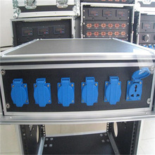 3U 6-way waterproof power distribution rack case