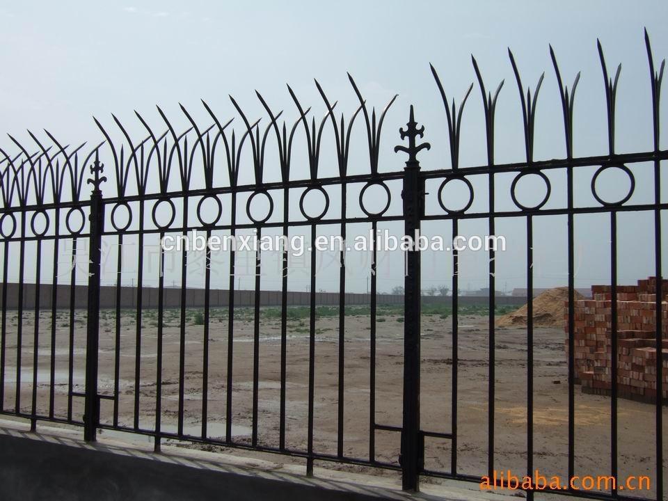 Casa grades de ferro forjado design com ferro portas da cerca modelo