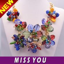 cheap jewelry beautiful resin flower jewelry wholesale