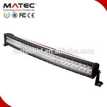 Multi-Funciton car 180W Curved Led Light Bar(Remote Control / Color Filters)