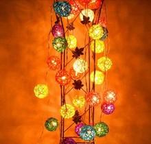Crazy price led christmas star string lights