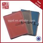custom pu cover a4 notebook