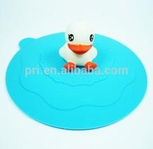 Beautiful designed heat-resistant silicone cup cover,silicon lip