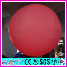 Top selling popular decorative advertising inflatable LED ball
