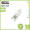 Ahorrar energía regulable g9 bombilla halógena, las lámparas halógenas de clase c