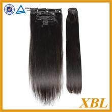 XBL malaysian hair extension, malaysian hair clip in extensions