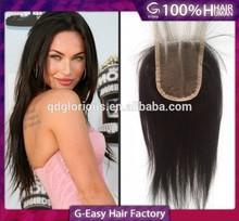 size4inchx4inch virgin human hair Mongolian cheap lace closure
