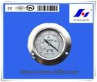 liquid filled stainless steel vacuum pressure gauge