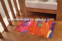 Comfortable beautiful rubber living room floor mat, Non-slip living room floor mat