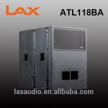 "Active 18"" subwoofer speaker box /professional sound box audio system"