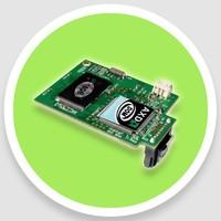 FOD 7-pins sata2 horizontal external power for integrated workstation