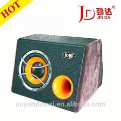 JD-808D with amplifier car subwoofer speaker motor subwoofer