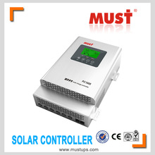 PC1600F series mppt solar charge controller in solar system with CE approval