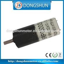 DS-16RP030 16mm 12v dc mini planetary gear motor para auto electrico