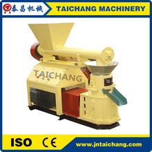 TAICHANG high wood/straw/cotton stalk flat die pellet machinery