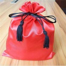 2015 Custom satin Cloth Drawstring Bags,satin drawstring shoe bags,dust bag covers for shoe
