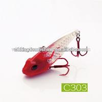 50mm/10.5g,50mm/14g,5mm/21g,65mm/25g 2014 New Design Vibrating Hard Bait Free Sample