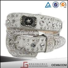 de alta calidad de cristal vaquera cinturón de diamantes de imitación para vestido de novia