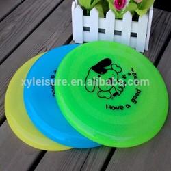 outdoor toy Flying Disc Plastic Flyer pet plastic frisbee