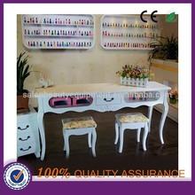 salon beauty manicure nail table , nail care table