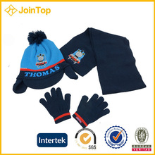 Jointop Halloween Party Costumes Boys Scarf Gloves Set