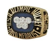 Cheap Hockey Sport Rings deep engraved