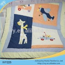 printing baby bedding set quilt 100 cotton down comforter