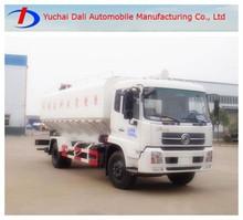 Dongfeng tianjin 4x2 bulk grain transport truck for sale