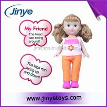 Cheap fashion girl plastic action figure toys