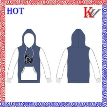 wholesales cotton custom embroidery basketball hoodie