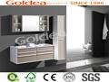 2014 fábrica na china recentemente pintura punho e duas gavetas do armário de banheiro ybc84-120