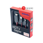 Brand New 5 pin 2m Length MHL Cable Micro USB Cable-hdmi Cabo HDMI Cable for Samsung Galaxy S2 S3 ZTE Huawei Lenovo