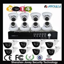 DIY 16CH AHD DVR kit Wholesale price , with 16pcs high quality HD AHD 720p/960p CCTV Security Camera + 1pc 16 CHS AHD DVR