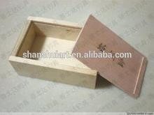 wood box sliding lid promotion