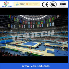 New technology product smd pixel pitch rental led display show in incheon asian games