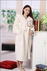 100% Polyester Women big waffle bathrobes Ladies night Robe