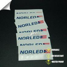 0.12mm water proof vinyl car bumper sticker export to uk