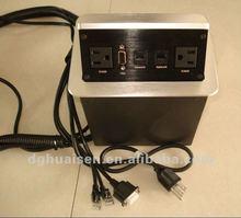 Floor Pop up UAS power+network+VGA