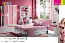 princess children bedroom furniture for kids- 8103