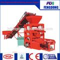 QT4-26C Semi-automatic concrete mould machine price