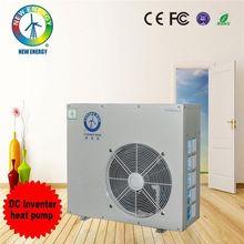 2014 CE hot sale industrialdc inverter split commercial hot water heat pump