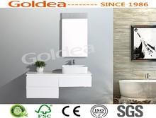 2014 GOLDEA Lacquer Island Bathroom Cabinet Modern Cabinets Wooden FurnitureYTG90-120