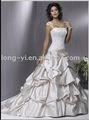 envío rápido de la boda vestido con piedra