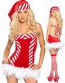 prezzo basso nsd001 hotsell abito con maniche lunghe santa