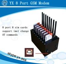 8 port gsm modem usb quectel sms modem pool bulk,8 sim bulk sms gateway imei change,M35 gsm modem bulk sms software