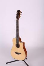 China unique design acoustic guitar white